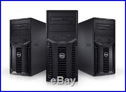 Dell PowerEdge T110 II Server 32GB RAM RAID 0/1/5/10 3.1GHz Xeon E3-1220v2 New