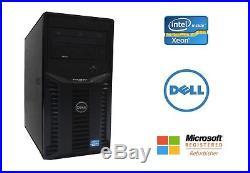 Dell PowerEdge T110 II Server Xeon Quad Core E3 3.1GHz 16GB RAM 2x 3TB PERC