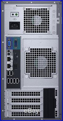 Dell PowerEdge T130 Server 32GB RAM 4TB 2x2TB RAID 3.4GHz Xeon E3-1230 v5 NEW