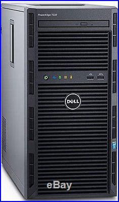 Dell PowerEdge T130 Server 8GB RAM 2TB 2x1TB RAID 3.0GHz Xeon E3-1220 v5 NEW