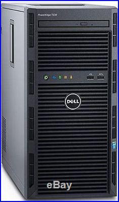 Dell PowerEdge T130 Server E3-1220 v6 32GB 2x2TB H330 Window 2012 R2 Foundation