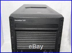 Dell PowerEdge T130 Tower Server E3-1220 V5 3.0Ghz 4GB 1TB IDRAC PERC S130 RAID
