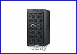 Dell PowerEdge T140 Server 16GB RAM 2TB 2x1TB RAID 3.3GHz Xeon E-2124 NEW