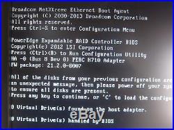 Dell PowerEdge T320 Srv, Xeon E5-2420 1.9GHz 6-Core, 48GB, No HDD