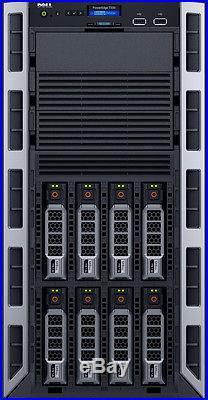 Dell PowerEdge T330 16GB RAM 8TB 2x4TB Xeon E3-1230 v5 H330 Server 2016 Standard
