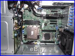 Dell PowerEdge T430 Tower Server E5-2609 V4 1.7Ghz 8-Core 16GB 2x120GB SSD H730