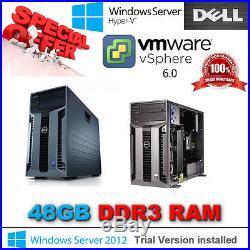 Dell PowerEdge T610 2x SixCore XEON X5650 2.66Ghz 48GB DDR3 PERC H700 8TB SAS