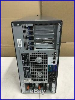 Dell PowerEdge T610 Server 2x Xeon E5506 @2.13Ghz 12GB MEM Perc 6/i 4x 300GB HD