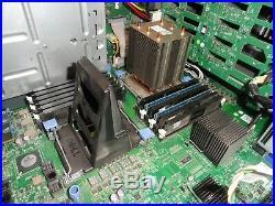 Dell PowerEdge T610 Tower Server Xeon E5530 2.4GHz 8GB 0HD Boots Perc