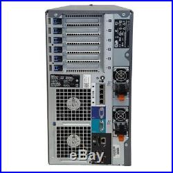 Dell PowerEdge T710 II SFF Tower 12-Core 3.33GHz X5680 128GB No 2.5 HDD H700