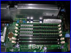 Dell Poweredge 2850 Server 2x2.8GHz DC 64-Bit CPUs 3X146GB 15K RAID DRAC 4GB