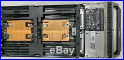 Dell Poweredge M620 Blade Server H710 Raid Controller, No Memory, No Processor