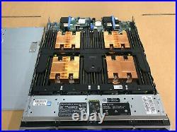 Dell Poweredge M830 Blade SERVER with 4x E5-4667 v4 2.2ghz 18C 128GB Ram