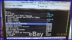 Dell Poweredge R210 II Intel XEON E3-1220 @ 3.10GHz 8GB RAM -NO HD 1U RACK