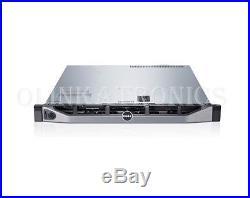 Dell Poweredge R430 Server 4 Bay Lff E5-2603 V3 24gb H330 Bezel Hotswap Power