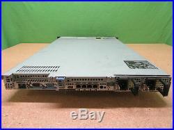 Dell Poweredge R610 2x Intel Xeon X5667 @ 3.07GHz 48GB RAM No HDD Tested
