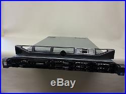 Dell Poweredge R610 server 2x QC 2.4GHz E5620,48GB, 2x 400GB SAS SSD, RAID RAILS