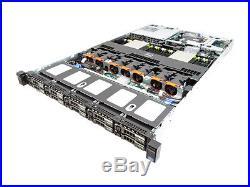 Dell Poweredge R620 10 BAY 1U 2x SIX-CORE E5-2620 2.00GHz NO HDD 96GB H710