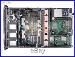 Dell Poweredge R815 4x AMD 6380 16C 2.5GHz 64GB 6x TRAYS Perc H700 Rails