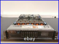 Dell Poweredge R820 2x Xeon E5-4620v2 64gb Ddr3 Sas H710 8x Sff 19 Server