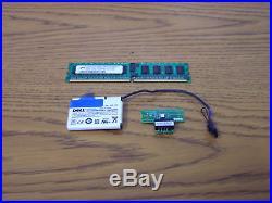 Dell Poweredge Server 1850 2800 2850 Raid Key Battery RAM Kit H1813 Overnight OK