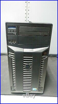 Dell Poweredge T410 Server 2X Intel Xeon Quad Core 2.4GHz 24 gb no hds