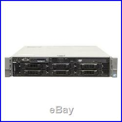 Dell Server PowerEdge R710 2x 6C Xeon E5645 2,4GHz 48GB 6xLFF PERC 6/i