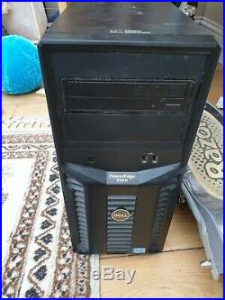 Dell T110 2 Server, 16gb ram 500gb drive