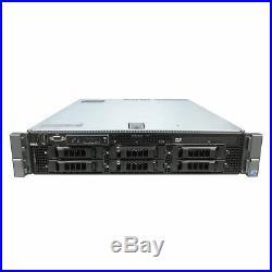 Dell Virtualization Server 12-Core 128GB RAM 12TB RAID PowerEdge R710 Bezel and