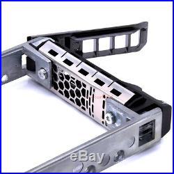 G176J 2.5 SAS SATA HDD Hard Drive Tray Caddy with Screw for DELL PowerEdge R610