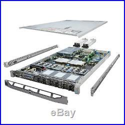 High-End DELL PowerEdge R610 Server 2x 3.06Ghz X5675 6C 128GB 6x 960GB SSD