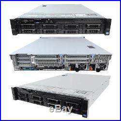 High-End Dell PowerEdge R720 Server 2x 2.60Ghz E5-2670 8C 128GB 8x300GB 15K SAS