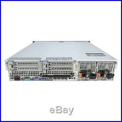 Mid-Level DELL PowerEdge R710 Server 2x2.40Ghz E5620 QC 72GB 8x300GB 10K SAS
