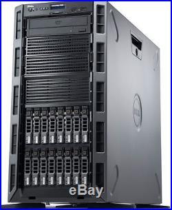 NEW Dell PowerEdge T420 Tower Server E5-2407v2 16GB H710 iDRAC 8x1TB SATA HDD